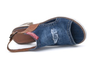 Denim dames sandale  44C-120