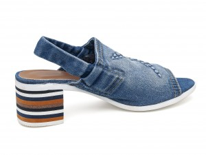 Denim dames sandale  46C-115