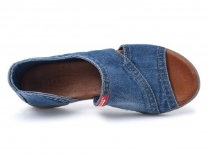 Denim dames sandale  44C-204